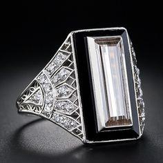 Nice design Art Deco ring