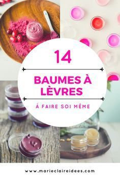 Geschenk - 14 baumes à lèvres à faire soi même / DIY beauté , Bee Crafts, Diy And Crafts, Belleza Diy, Diy Cadeau Noel, Diy Beauté, Make Up Anleitung, Best Makeup Brushes, Eyeshadow Brushes, Diy Lip Balm