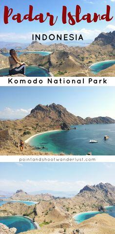 Hiking in Padar Island, Komodo National Park, Indonesia | beach hike | island hopping Komodo National Park | viewpoint | day trip Padar Island | Padar Island travel guide | #Indonesia #SoutheastAsia #Asia #hike