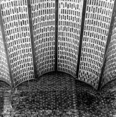 Sigurd Lewerentz. St Mark's Church, Bjorkhagen. 1960