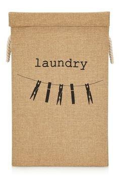 Jute Laundry Hamper