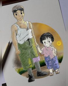 Grave of the fireflies Firefly Drawing, Firefly Art, Firefly Serenity, Hotaru No Haka, Grave Of The Fireflies, Learning Games For Kids, Studio Ghibli Movies, Elmo Birthday, Disney Outfits
