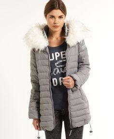 Superdry Marl Wind Skier Coat