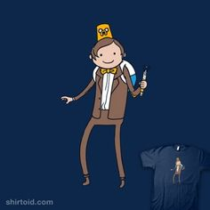 Adventure Time meets Doctor Who