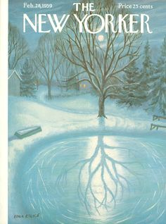 The New Yorker - Saturday, February 28, 1959 - Issue # 1776 - Vol. 35 - N° 2 - Cover by : Edna Eicke