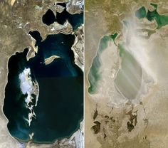 Aral Sea - For a long time The Aral Sea was one of the 4 largest lakes in the world, however due to some spectacularly bad... #travel #destination
