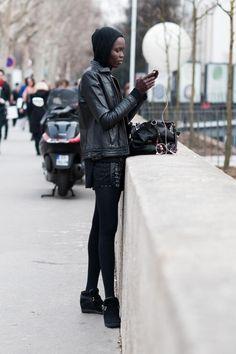 stunning. #GraceBol #offduty in Paris.