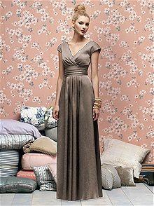 Lela Rose Style LX167 #brown #bridesmaid #dress