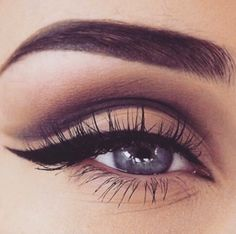 Another gorgeous, matte natural eye. I do my make up like this quite often using the Naked Basics 2 from Urban Decay