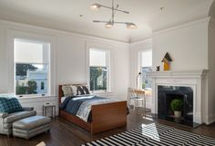 Classic Meets Modern - Pacific Heights - contemporary - Kids - San Francisco - Sutro Architects