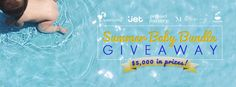 Summer Baby Bundle Giveaway, weeSpring, Jet.com, Project Nursery, Motherly, Tiny Beans