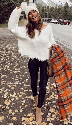 Cheap Fall Outfits, Cozy Fall Outfits, Winter Fashion Outfits, Look Fashion, Autumn Winter Fashion, Cool Outfits, Womens Fashion, Fall Outfit Ideas, Winter Scarf Outfit