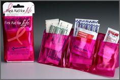mini first aid kit. Asprin, Allergy medicine, just in case.