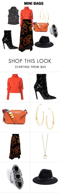 """""""Thursday's outfit"""" by mkdetail ❤ liked on Polyvore featuring Creatures of the Wind, Balenciaga, Anya Hindmarch, Lana, Peter Pilotto, Palm Beach Jewelry, Sole Society and Andrew Marc"""