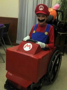 mario-kart-wheelchair-halloween-costume 20 Awesome Halloween Costume Ideas For Wheelchair-Users (Pictures) http://www.themobilityresource.com/20-awesome-halloween-costume-ideas-for-wheelchair-users/ via @Matty Chuah Mobility Resource
