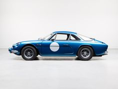 RENAULT Alpine A110, Factory-made Rally Version, Model 1970