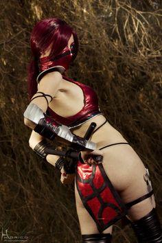 Skarlet, Mortal Kombat.