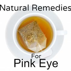 Natural Remedies for Pink Eye, with all the times cole gets pink eye from his allergies, I have to keep in mind to use the black tea.