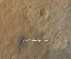 Amazing new high-resolution orbital view of Curiosity rover's landing site