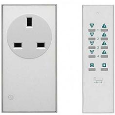 LightwaveRF Remote Control & Socket Kit - 3 pack