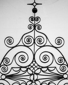 Black and white photograph of beautifully decorative ironwork in Charleston, South Carolina, a city known for a long history of fine ironwork in its architecture and fences. Iron Work, Architecture Details, Black And White Photography, Charleston, Fine Art Paper, Fine Art Prints, Fancy, Traditional, Frame
