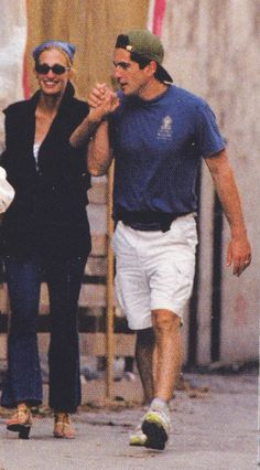 Carolyn Bessette Kennedy and John F. Kennedy Jr. - Turkey