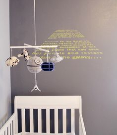 baby room? star wars? yes please.