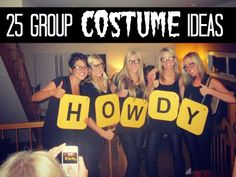 25 handmade group halloween costume ideas via @RACostumes