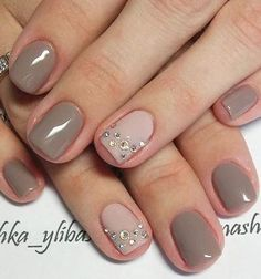 Nail Designs For Short Nails Pictures unique medium and short nails for stylish ladies Nail Designs For Short Nails. Here is Nail Designs For Short Nails Pictures for you. Nail Designs For Short Nails top 150 beautiful short nail art ide. Natural Nail Designs, Gel Nail Art Designs, Black Nail Designs, Short Nail Designs, Nails Design, Hair Designs, Taupe Nails, Neutral Nails, Classy Nails