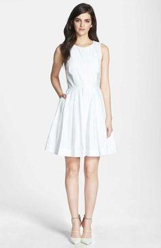 eyelet white dress / nordstrom