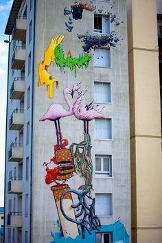 Street Artist:  Brusk in Strasbourg