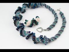 Rope with magatamas (1of2) ~ Seed Bead Tutorials