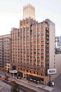 Completed in 2014 in Los Angeles, United States. Images by Spencer Lowell. Ace Hotel Downtown Los Angeles opens in the historic United Artists building in Downtown LA. Built in 1927 for the maverick film studio, the ornate,. Downtown Los Angeles, Ace Hotel Los Angeles, Los Angeles Restaurants, San Diego, San Francisco, Santa Monica, Palm Springs, Art Deco, Hotel Architecture