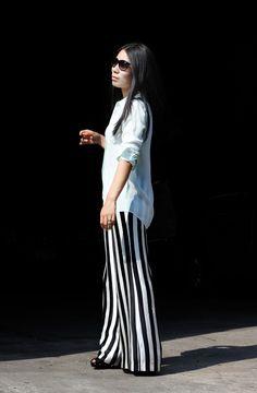 Brook & Lyn striped pants
