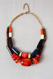 Chile Wooden Necklace