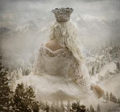 white queen style