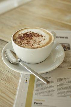 Morning cappuccino #eatsleepbeach