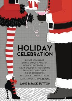 cute Christmas party invitation                                                                                                                                                                                 More