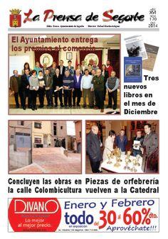 La Prensa de Segorbe nº 170 Enero 2014 Periódico mensual del Excmo. Ayuntamiento de #Segorbe