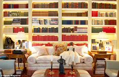 Oprah is redoing her library because it is not livable