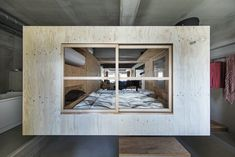House of Ichijoji / YAP Yamaguchi, Plywood Boxes, Old Apartments, Grand Piano, Cafe Bar, Inspired Homes, Condominium, Car Parking, Creative Advertising