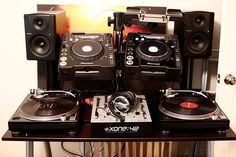 DJ Setup CDJ Mk3 Serato SL3 Technics 1210 M5G Xone 42