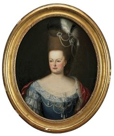 Maria Francisca Benedita of Braganza (1746-1829), daughter of Joseph I, King of Portugal & Mariana Victoria of Spain. Maria Francisca Benedita was an Infanta of Portugal & later Princess of Beira & Princess of Brazil (1777-1788) as wife of Joseph, Prince of Beira & Prince of Brazil (son & heir apparant of her sister, Maria I, Queen of Portugal).