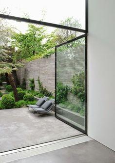 Terraza industrial hormigón pulido / 7 suelos para 7 terrazas de 7 estilos #hogarhabitissimo: