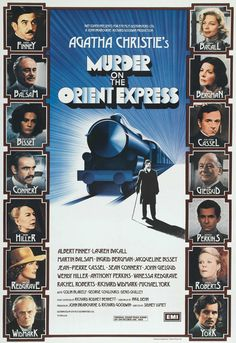 Murder On The Orient Express - amazing cast, beautiful sets - just a great adaptation...