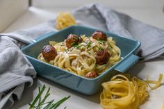 Nudeln mit Salsiccia und Sahne - einfaches italienisches Rezept Spaghetti, Pasta, Ethnic Recipes, Food, Eat Lunch, Food Dinners, Italian Sausages, Easy Meals, Food Food