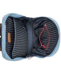 Tommy Hilfiger Men's Denim Backpack - Blue