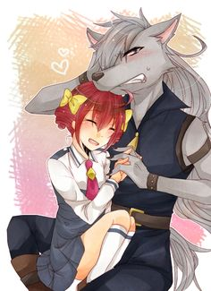 Wolfrun and Happy/Miyuki Glitter Lucky, Smile Pretty Cure, Cute Little Drawings, Best Villains, Glitter Force, Fantastic Art, All Anime, Furry Art, Anime Couples