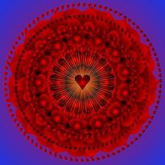 valentine mandala | Valentine Mandala ....Just for the Love of it by shoffman