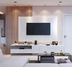 Inspirational ideas best living room TV wall design 15 Contemporary TV unit made of black lacquer with a crocodile structure tvunitdesign Black .Contemporary black lacquer TV unit with crocodile structure tvunitdesign Black . Home Room Design, Home Interior Design, House Design, Living Room Interior, Home Living Room, Tv Living Rooms, Modern Tv Wall Units, Modern Tv Room, Modern Living Room Design